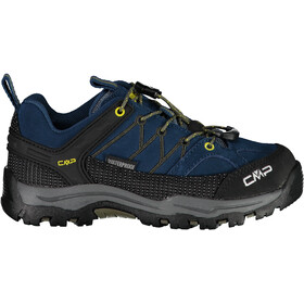 CMP Campagnolo Rigel WP Low Trekking Shoes Kids blue ink-yellow